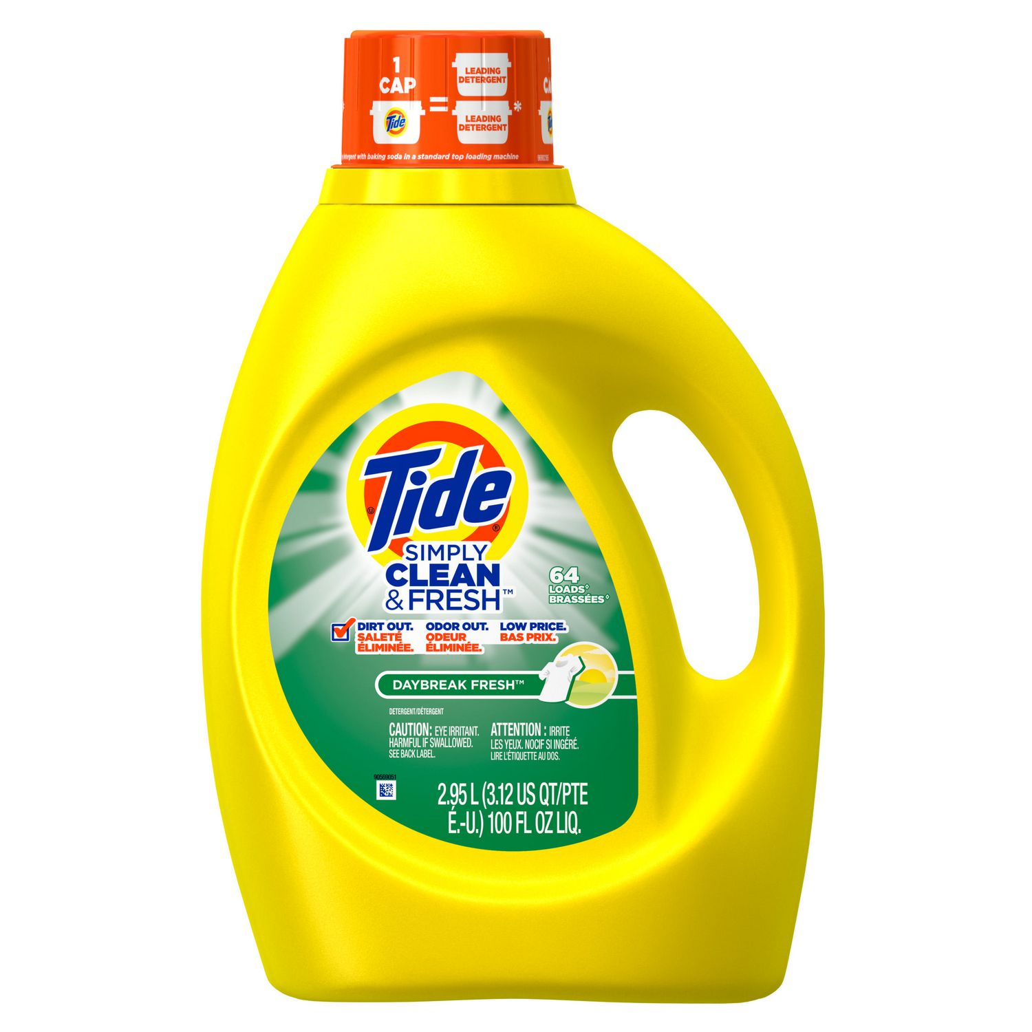 High Efficiency Detergent Brands Tide Simply Clean Fresh High Efficiency Daybreak Fresh Scent