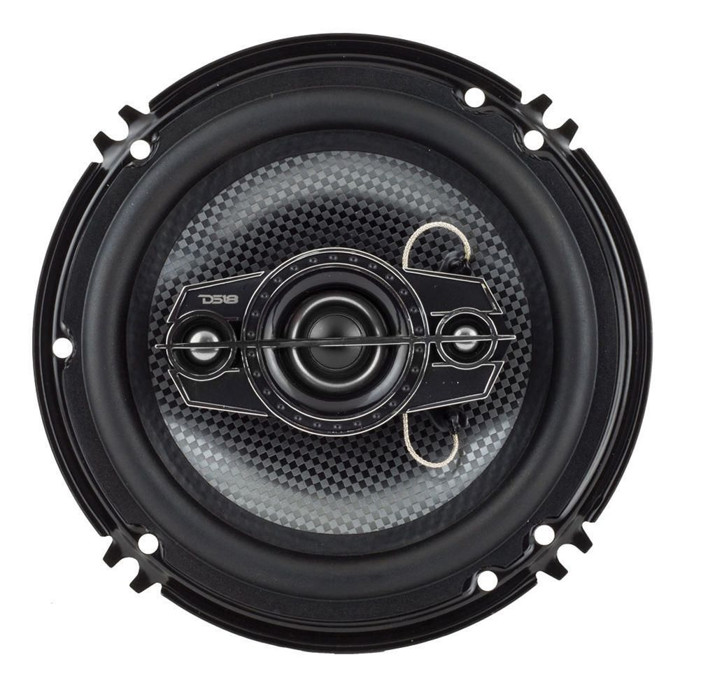 """DS18 Select Series 6.5"""" 4-Way Coaxial Auto Speakers, Pair"""