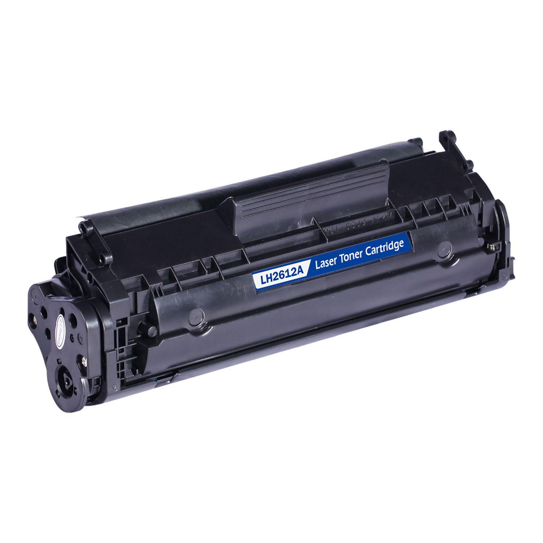 L-ink Compatible HP 12A Canon 104 (Q2612A) Black Toner ...