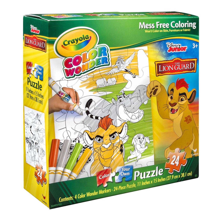 Baby cribs kijiji calgary - Cardinal Games Crayola Color Wonder Lion Guard Color Your Own 24 Piece Puzzle