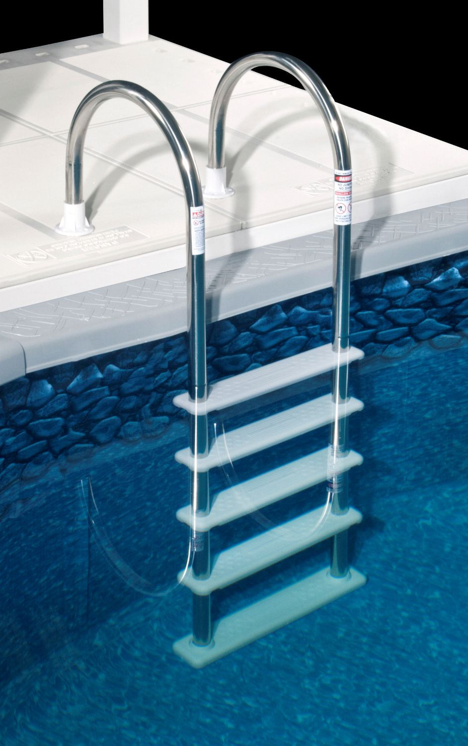 Blue Wave Standard Stainless Steel In Pool Ladder For