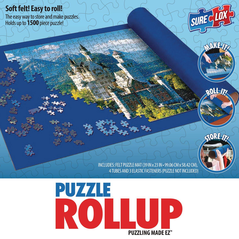 puzzle mat wood red black en mats