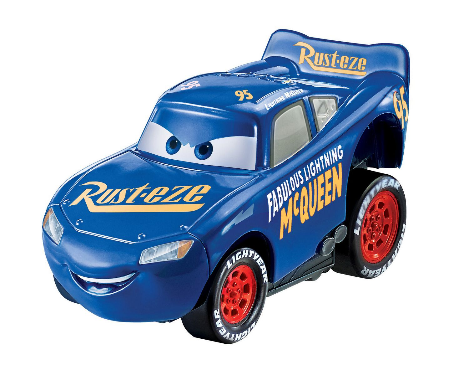 Disney Pixar Cars MINI ADVENTURES Lightning McQueen 95  Without Store Package