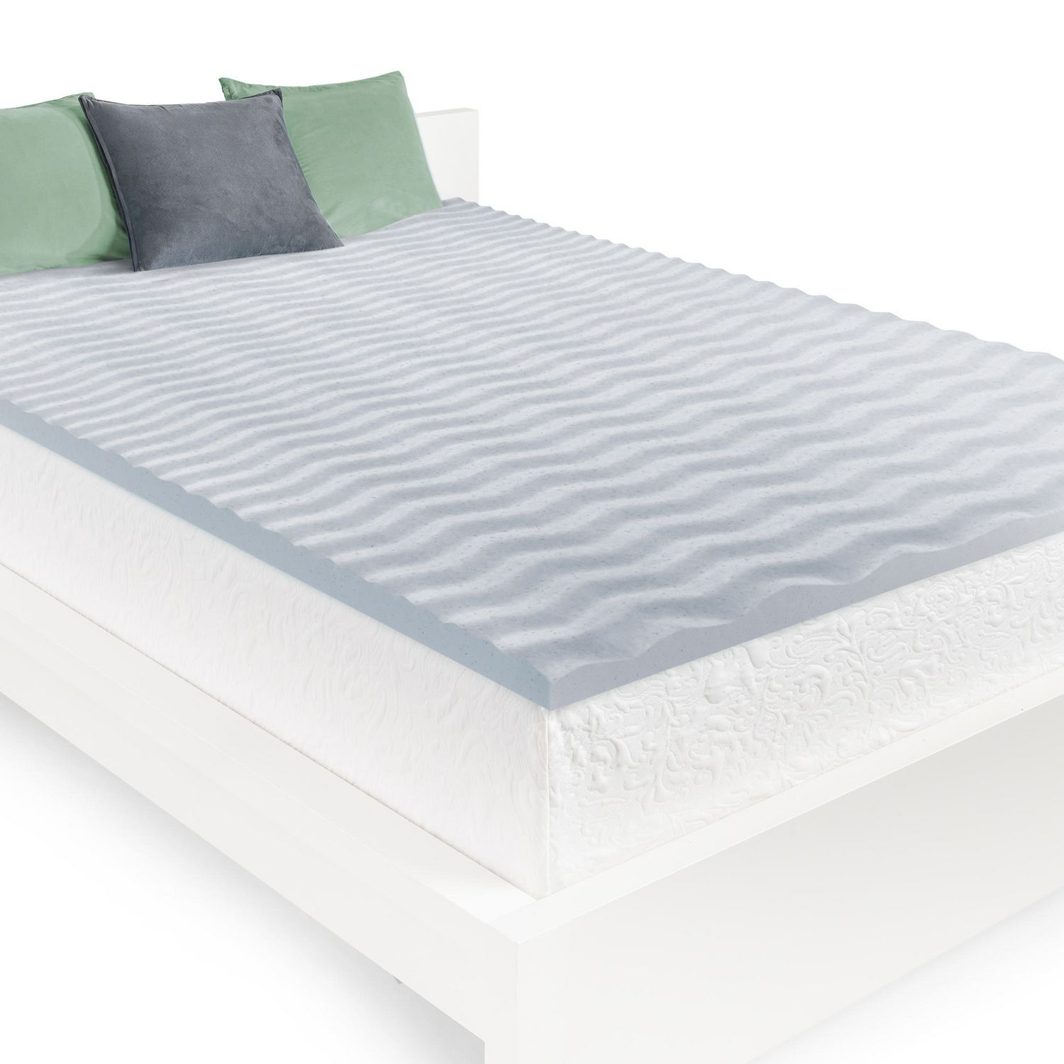 Homedics 2 Cool Wave Memory Foam Mattress Topper Walmart Canada