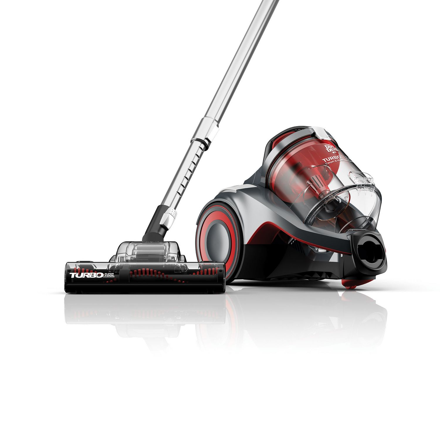 dirt devil turbo clean carpet u0026 hard floor cyclonic canister vacuum walmart canada - Canister Vacuum Reviews