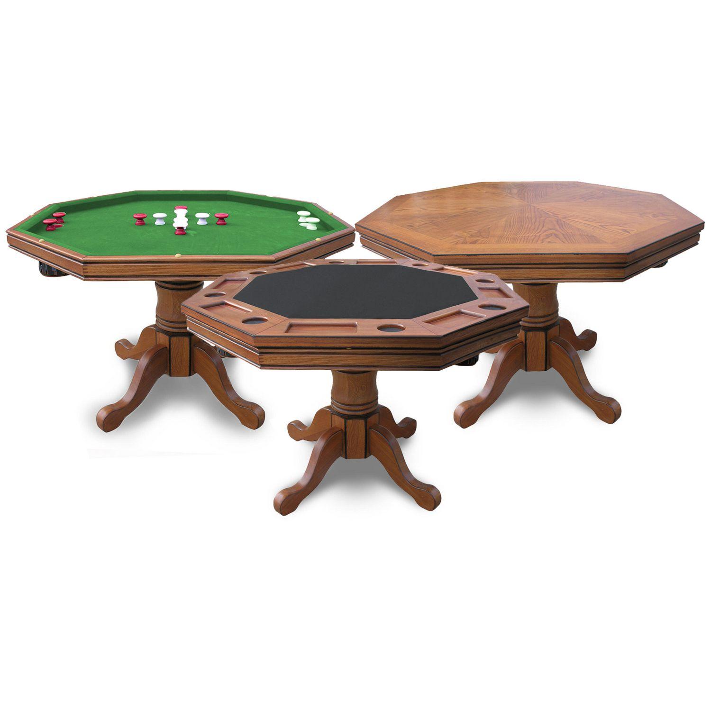 Kingston 3 in 1 Poker Table