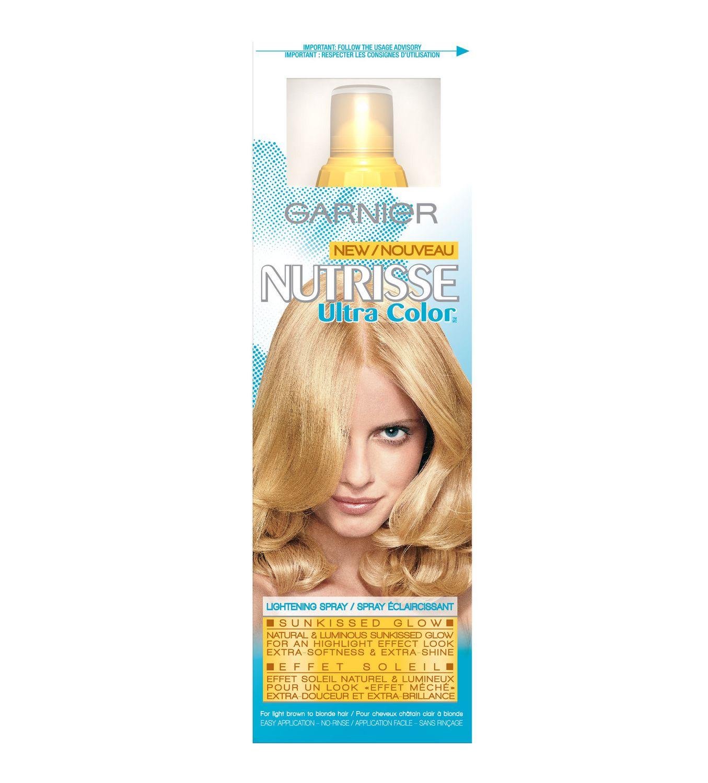 Garnier belle color 73 dark golden blonde dark brown hairs - Garnier Nutrisse Ultra Color Sunkissed Glow Lightening Spray