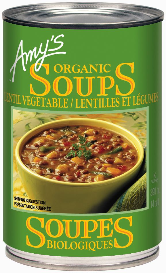 Terrific Amys Kitchen Organic Lentil Vegetable Soup Interior Design Ideas Inamawefileorg