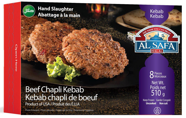 Al Safa Halal Beef Chapli Kebab