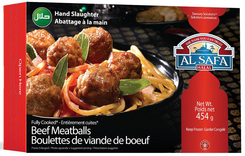 Al Safa Halal Fully Cooked Beef Meatballs