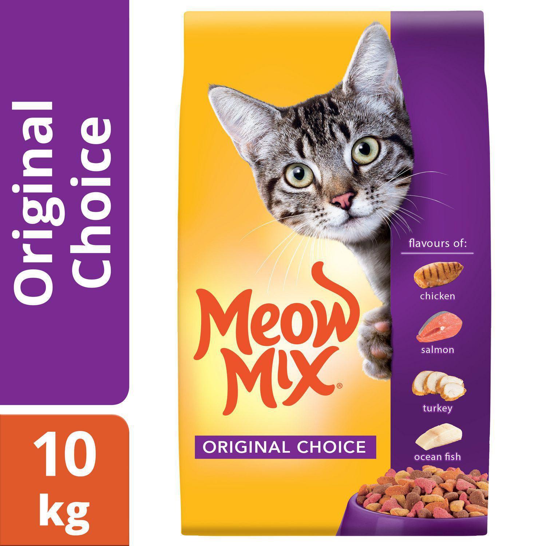 Meow Mix Original Choice Cat Food 10kg   Walmart Canada