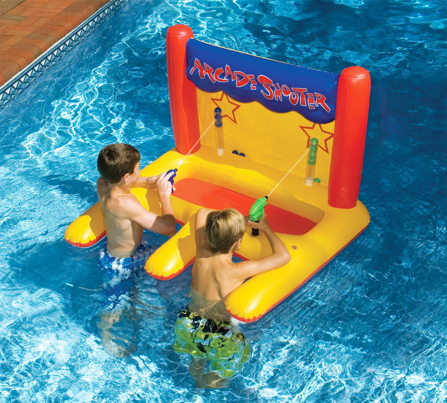 Swimline Dual Arcade Shooter Inflatable Pool Toy