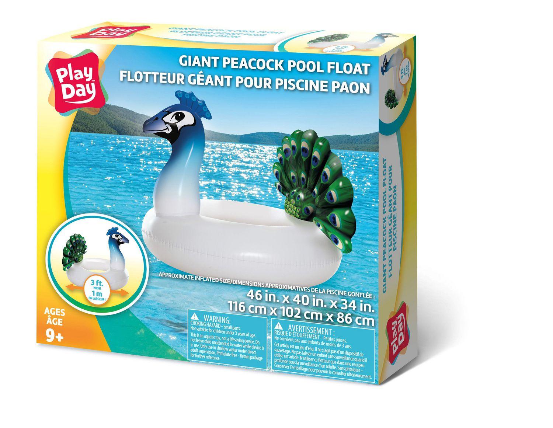 Giant Peacock Pool Float Inflatable Walmart Canada
