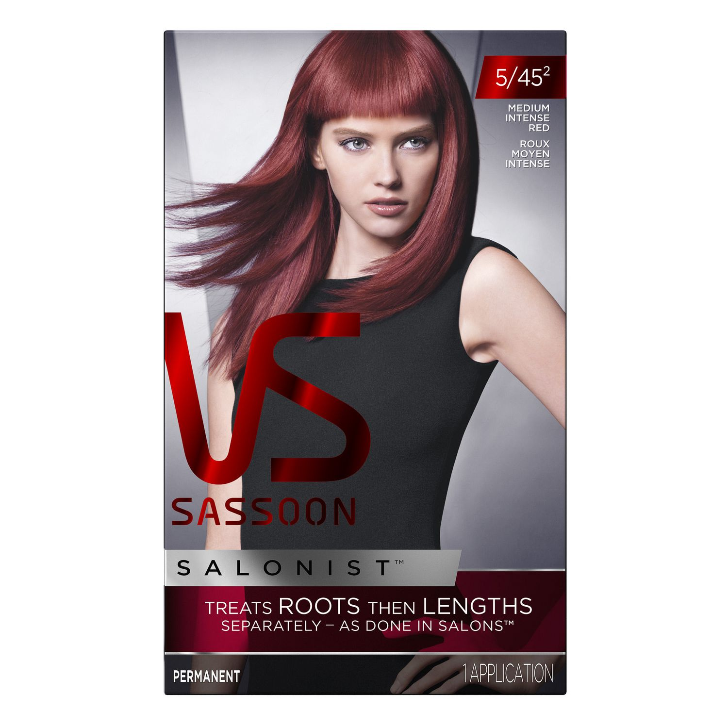 Stupendous Vidal Sassoon Salonist Hair Colour Permanent Color Walmart Ca Short Hairstyles Gunalazisus