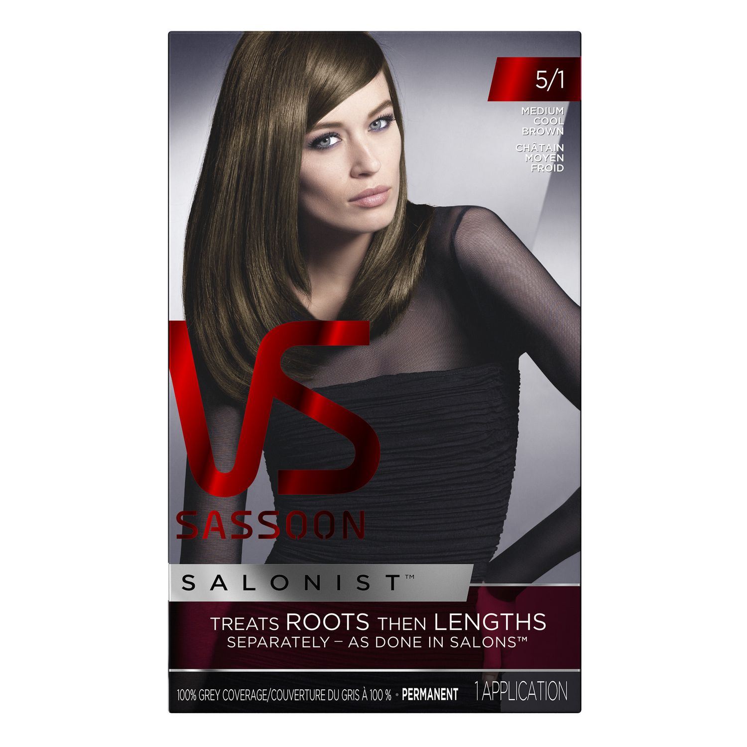 Vidal Sassoon Salonist Hair Colour Permanent Color Walmart Canada
