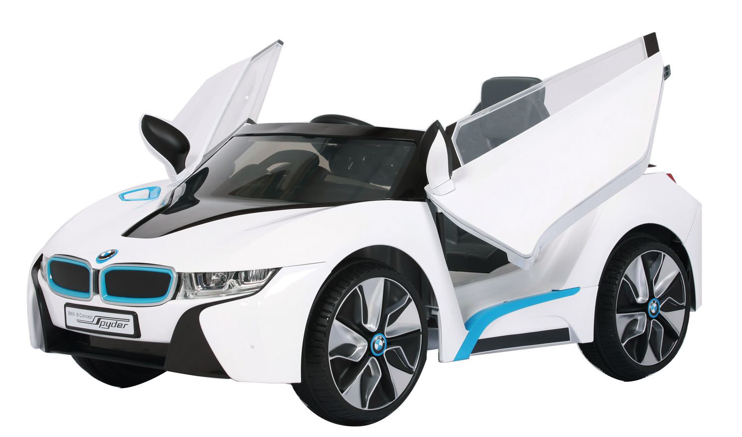 6v rollplay bmw i8 white ride on toy walmartca