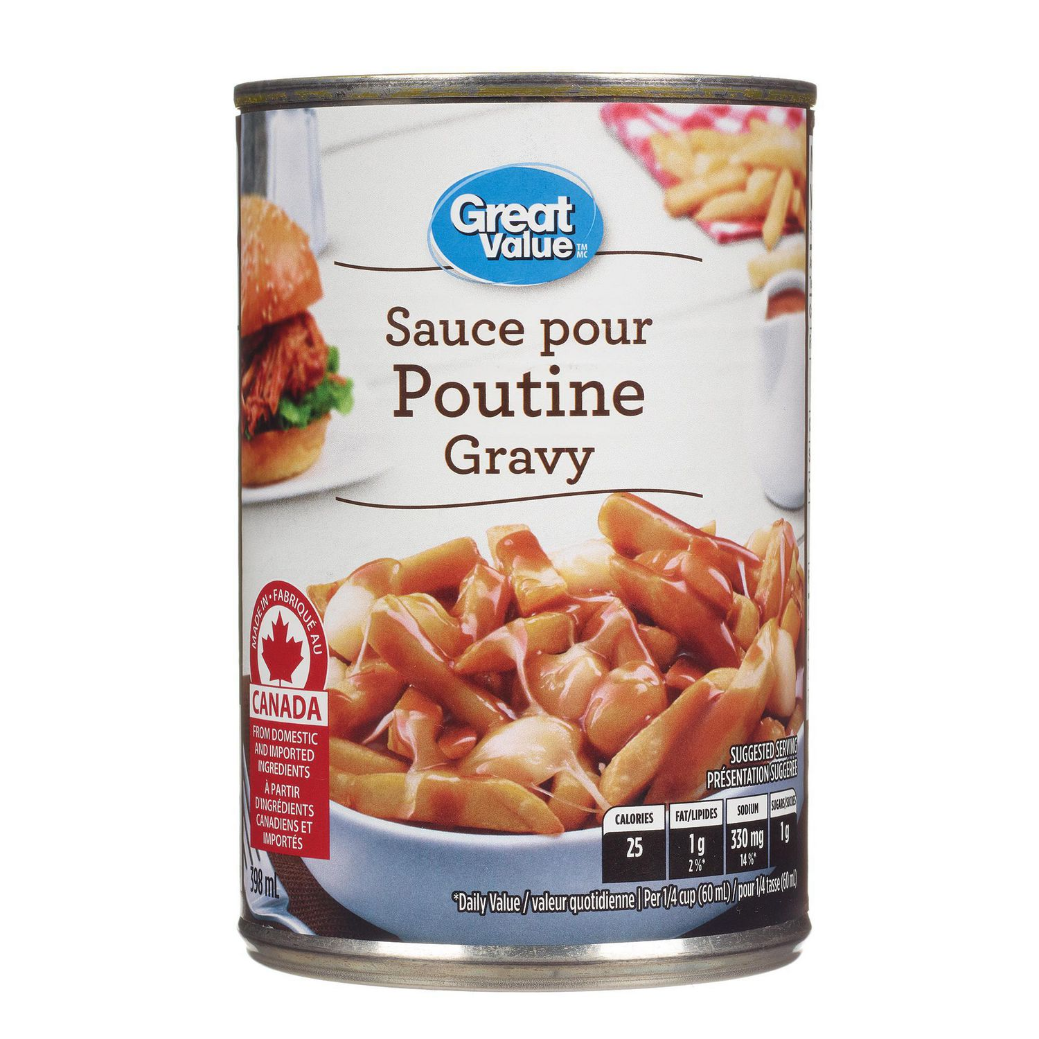 Poutine Chronicles: Canned Poutine Sauce |Canned Poutine Sauce