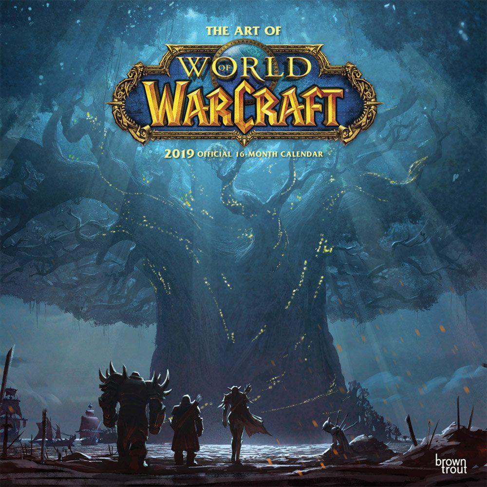 2019 World Of Warcraft Calendar Walmart Canada