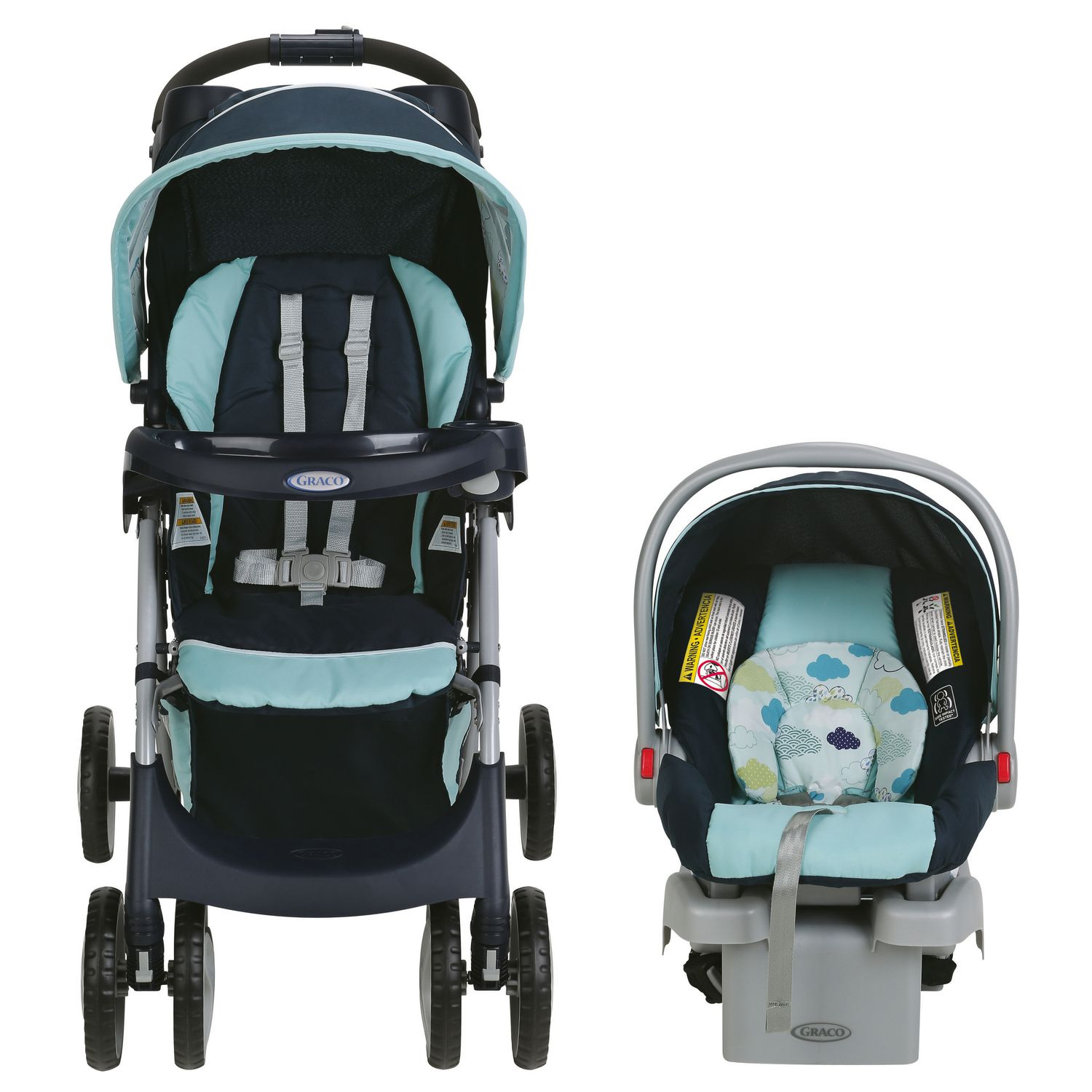 Graco® Comfy Cruiser™ Travel System - Stratus™