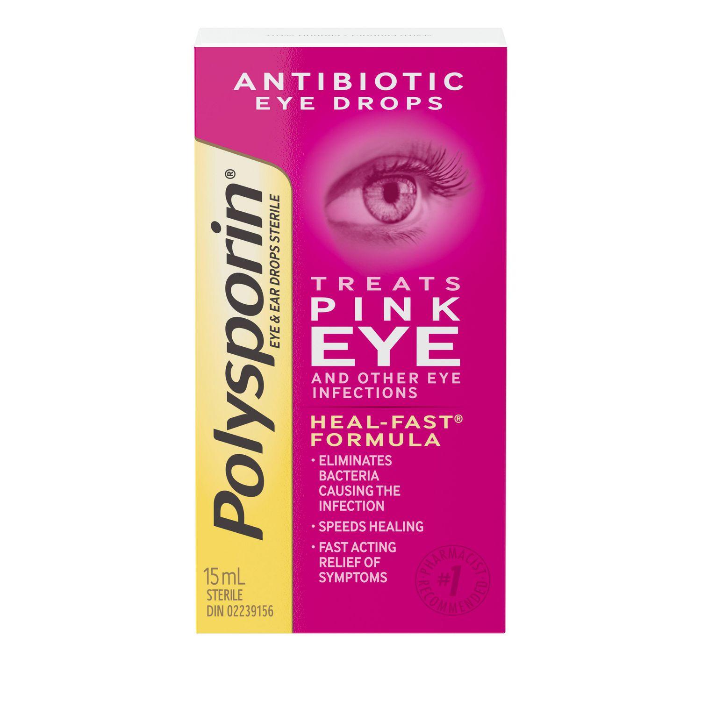 Polysporin Pink Eye Drops 15 Ml Walmart Canada