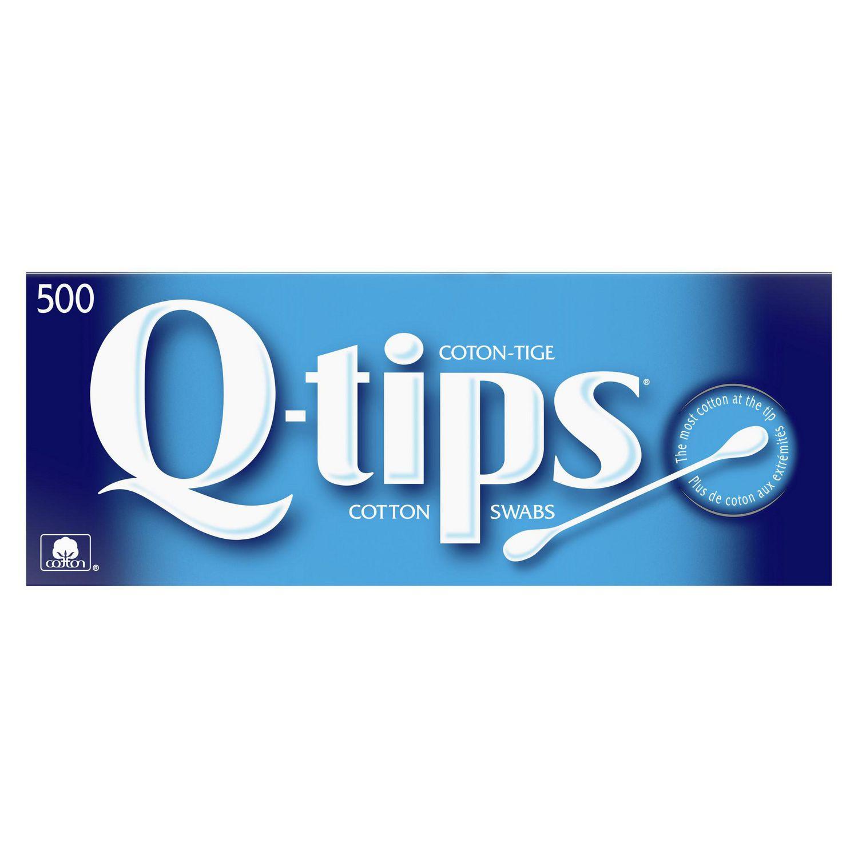 100/% Coton Pack de 500 Q-Tips Cotons-Tiges