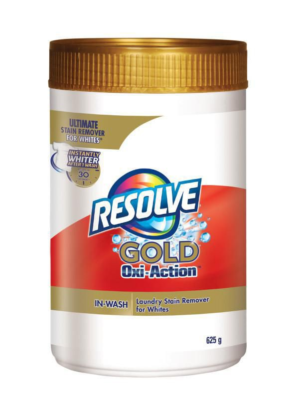 Resolve, Gold Oxi-Action, Ultimate Laundry Stain Remover