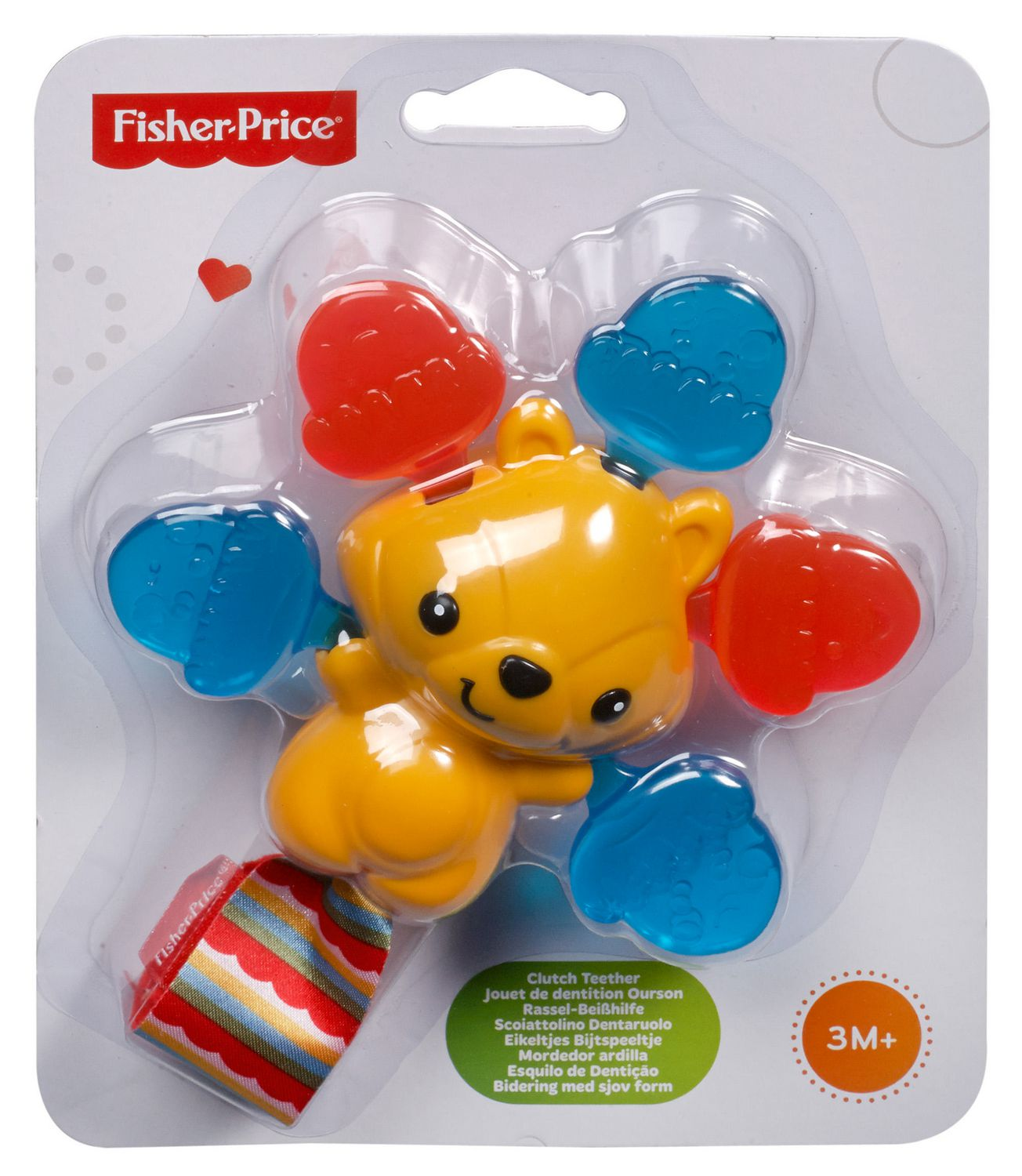Fisher Price Teether Clutch