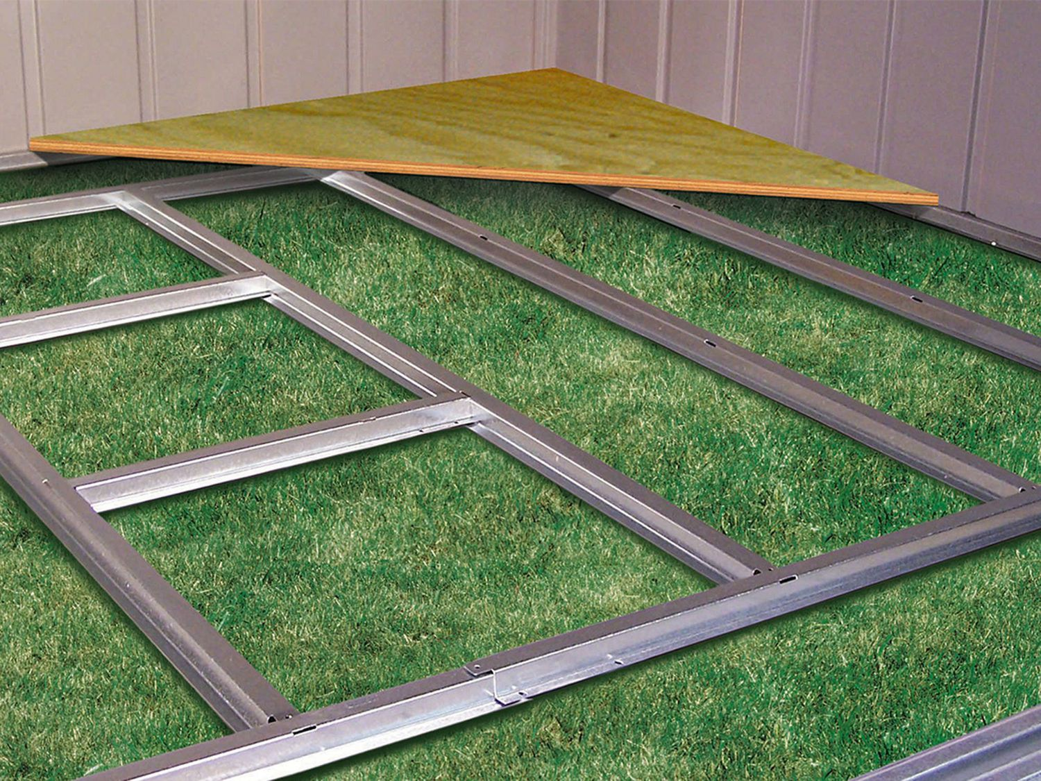 Arrow Shed Floor Frame Kit For Admiral And Viking Sheds