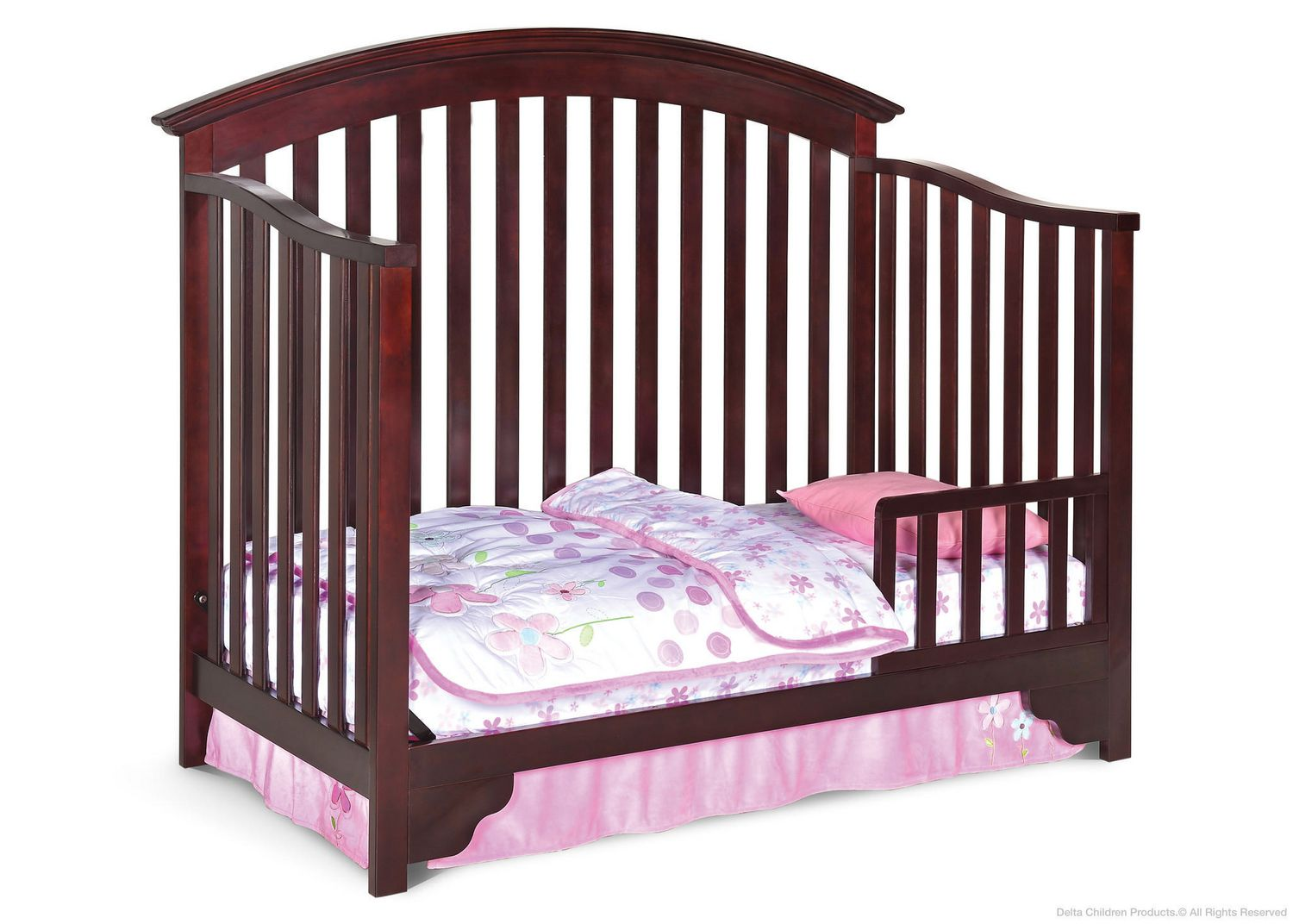 grey products angled crib delta children in cali view rustic