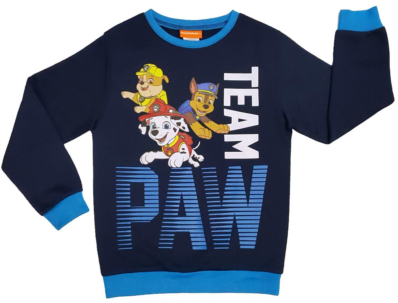 Paw Patrol Pull à manches longues motif couleur BLEU TAILLE 110//116 NOUVEAU /& NEUF dans sa boîte