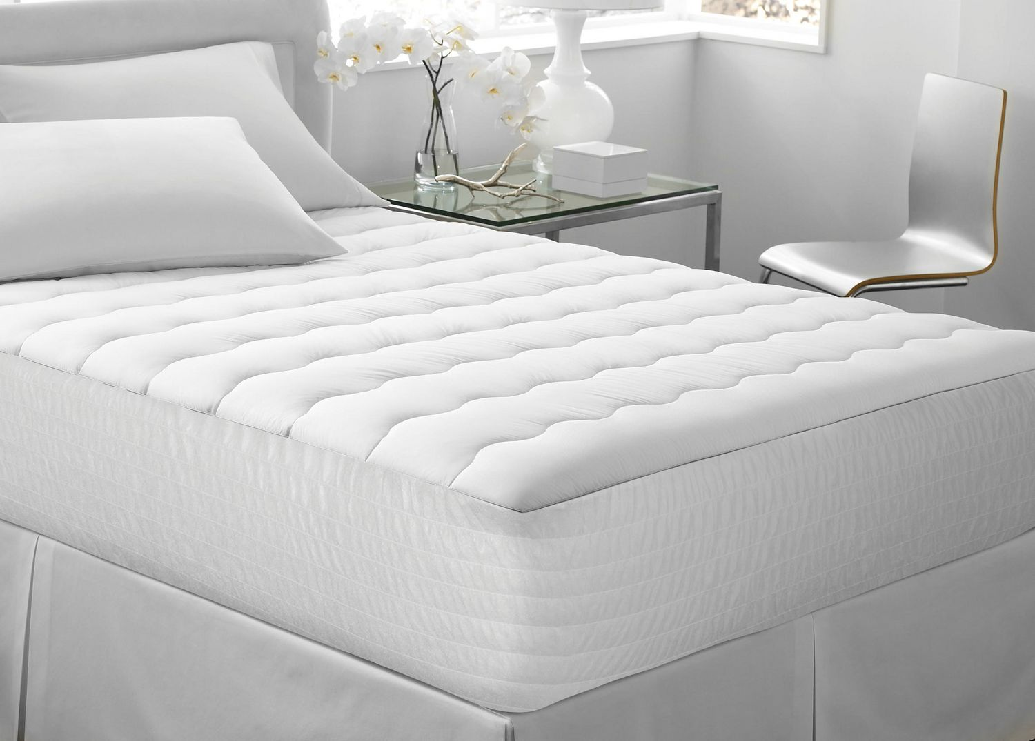 product dormio pad henley on bed thumbnail mattress