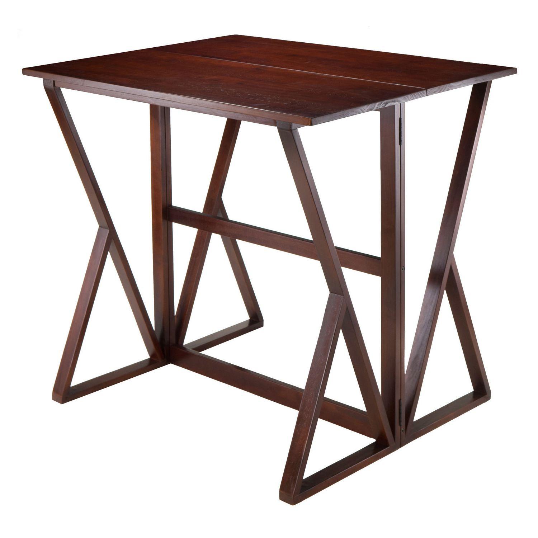 winsome harrington drop leaf high table    walmartca -
