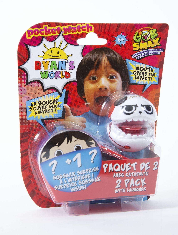 Ryan MONDO gobsmax 2 confezione con lanciatore