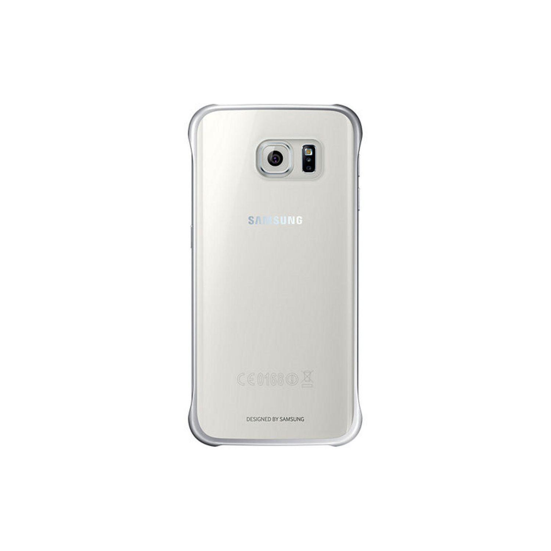 Samsung Coque transparente pour Galaxy S6 edge, argent
