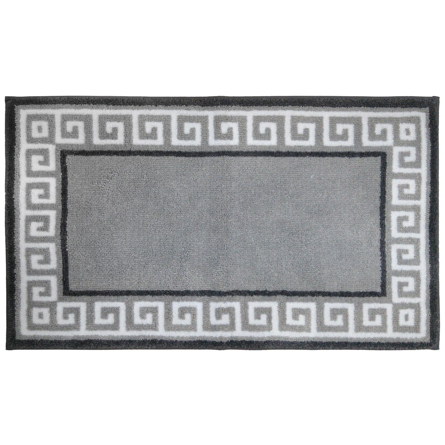 hometrends Grey Paisley Bath Rug | Walmart Canada