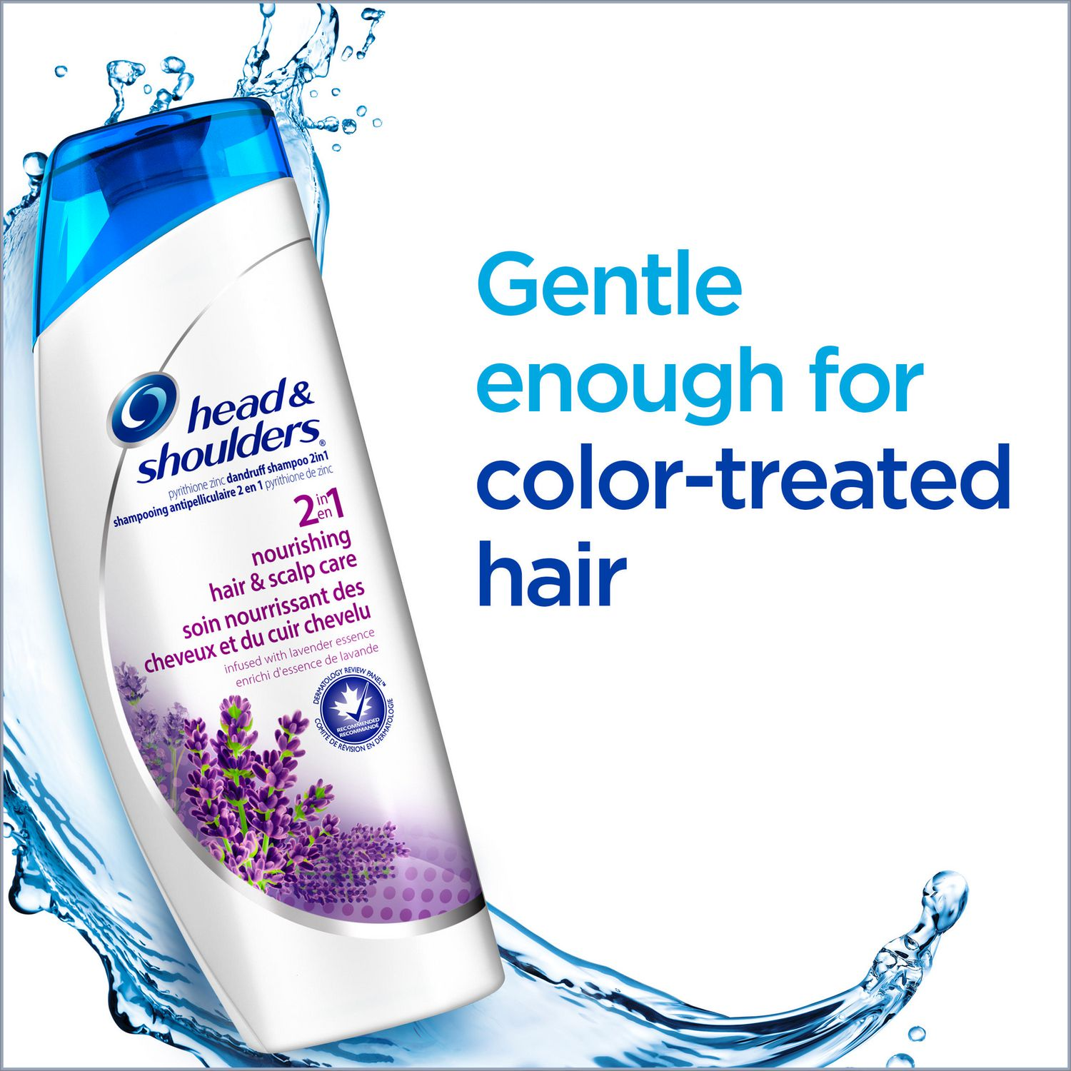 Head and shoulders for color treated hair