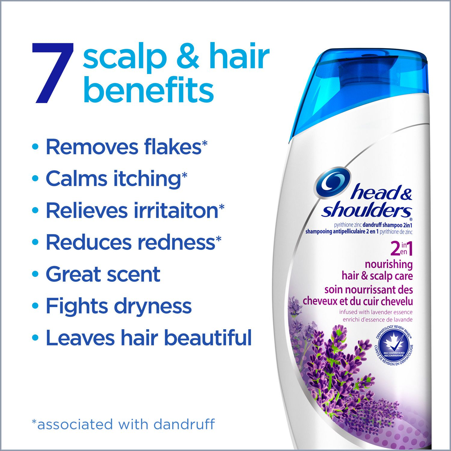head and shoulders benefits