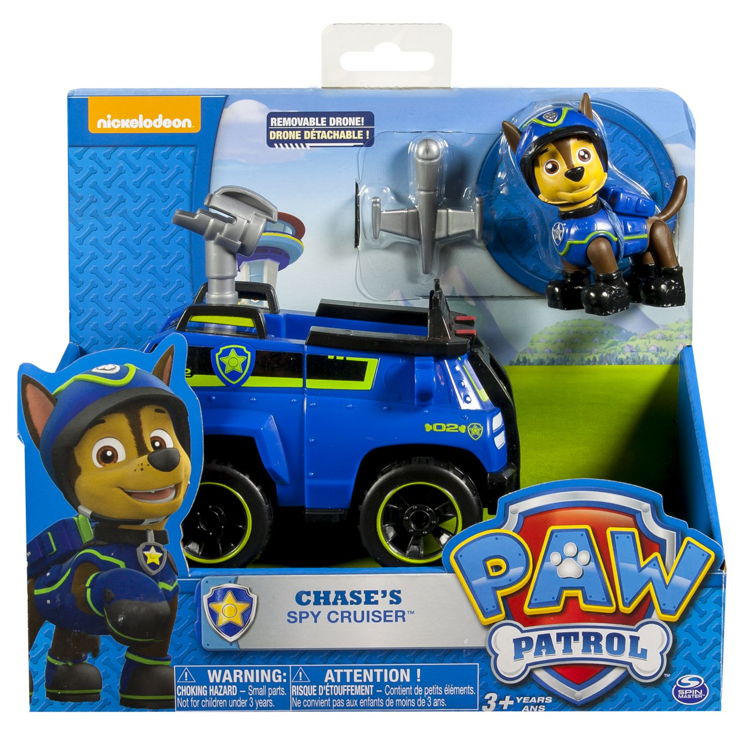 PAW Patrol Chase s Spy Cruiser Toy Vehicle and Action Figure
