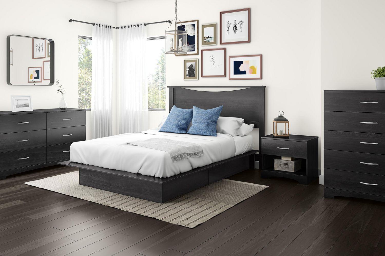 dimension table de chevet hoze home. Black Bedroom Furniture Sets. Home Design Ideas