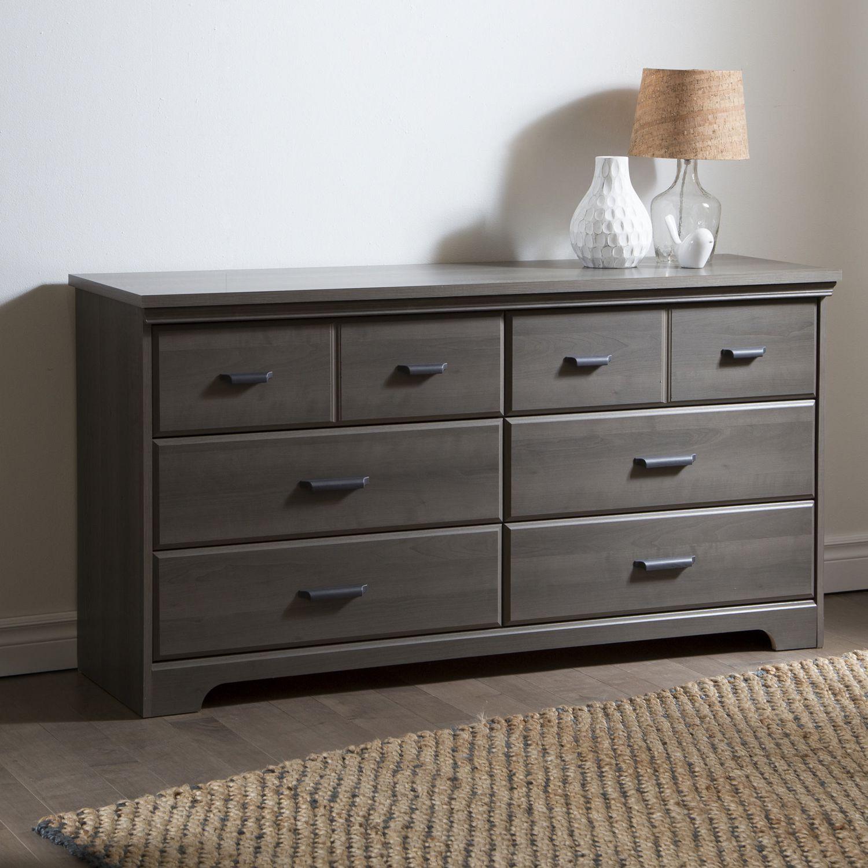 south shore versa drawer double dresser  walmartca -