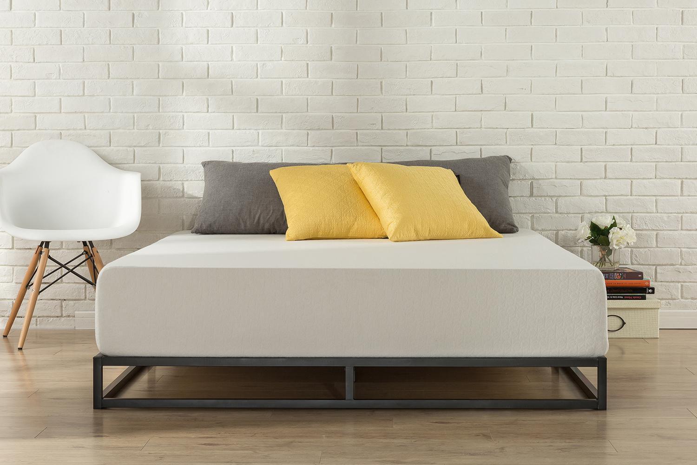 Zinus Joseph 6 Inch Platforma Low Profile Bed Frame Mattress Foundation Box Spring Optional Wood Slat Support Walmart Canada