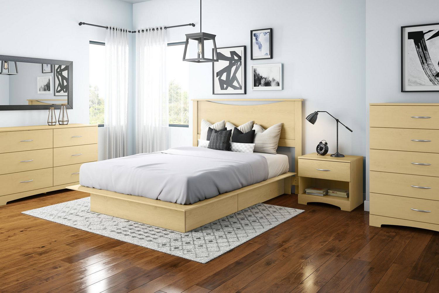 South Shore Soho Collection Storage Platform Bed