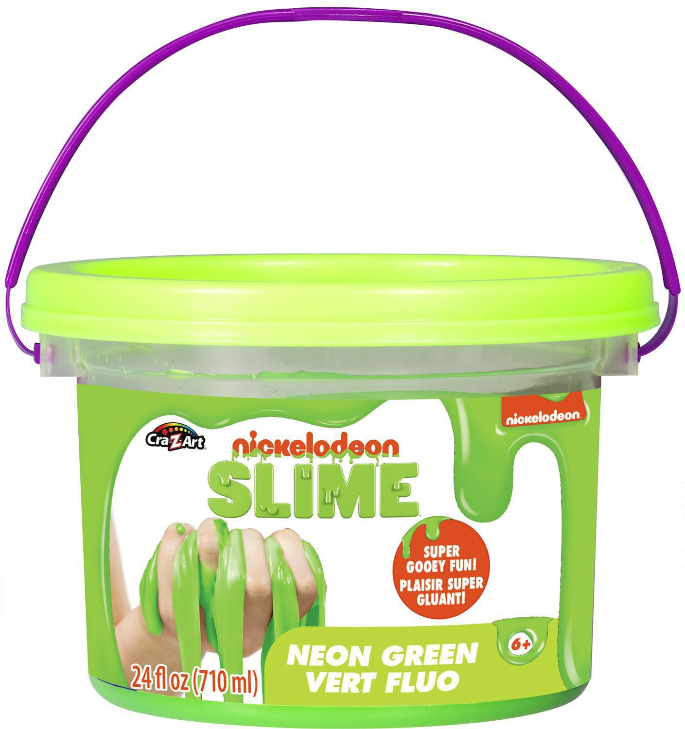 Nickelodeon Neon Green Pre-made Slime