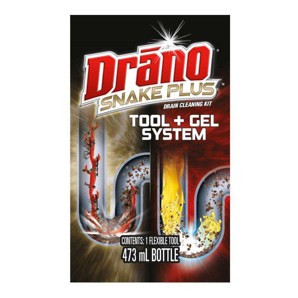 Drano Snake Plus Tool + Gel Cleaning Kit | Walmart Canada