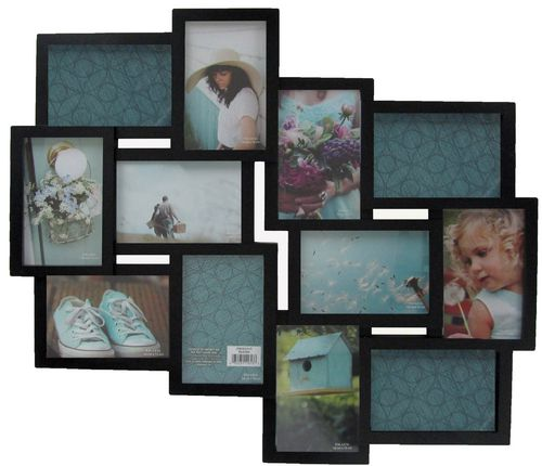 warner 12 opening collage black frame walmartca