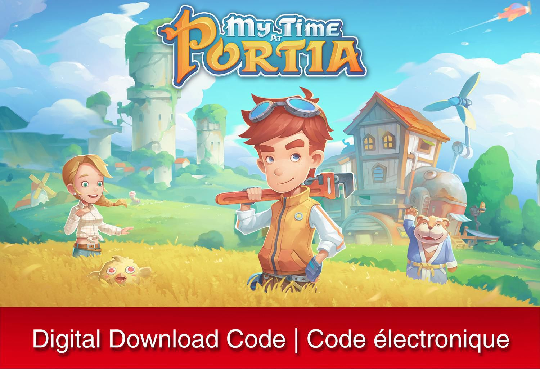 My Time at Portia - Nintendo Switch [Digital Code] | Walmart