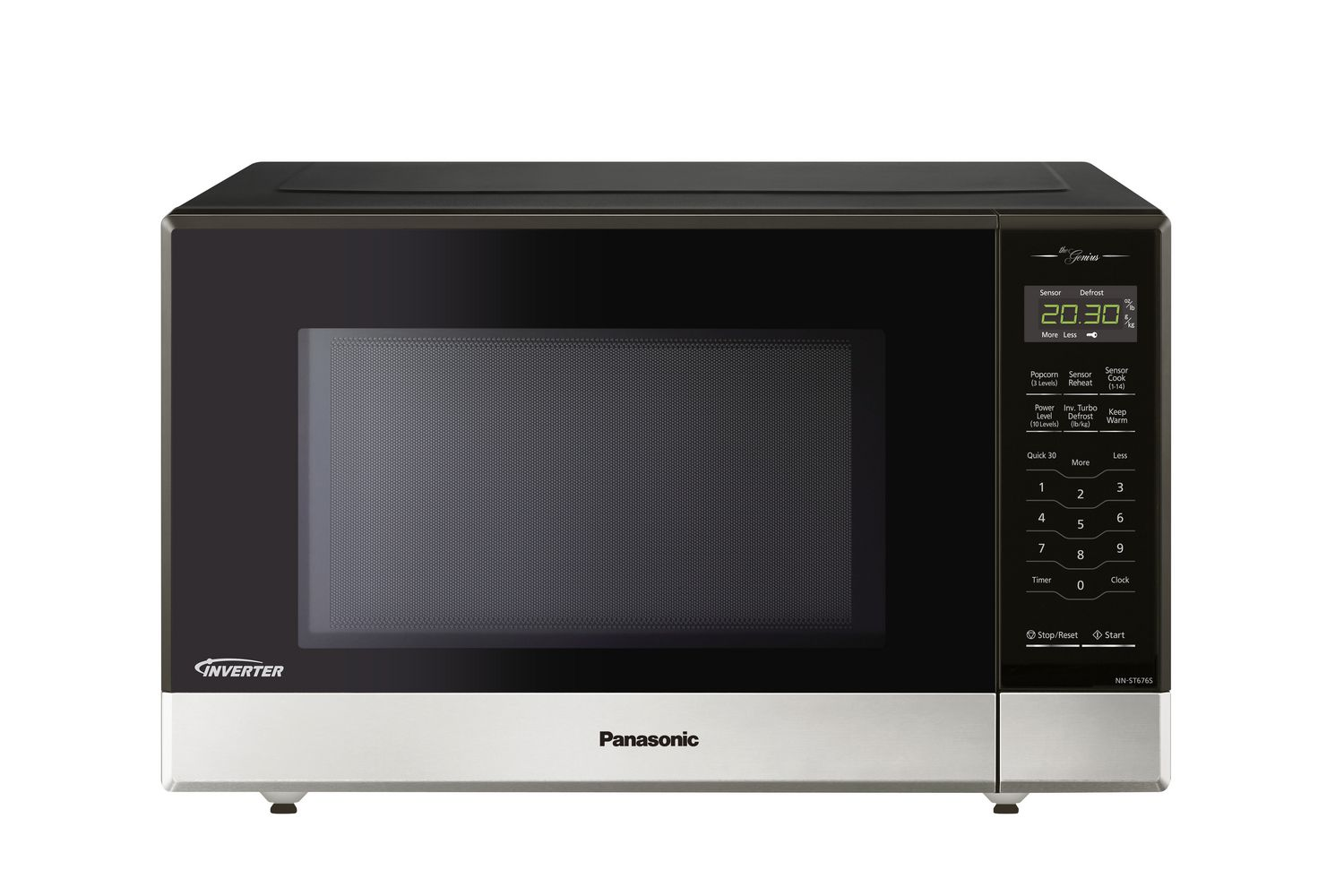 Panasonic Nnst676s With Genius And Inverter Technology