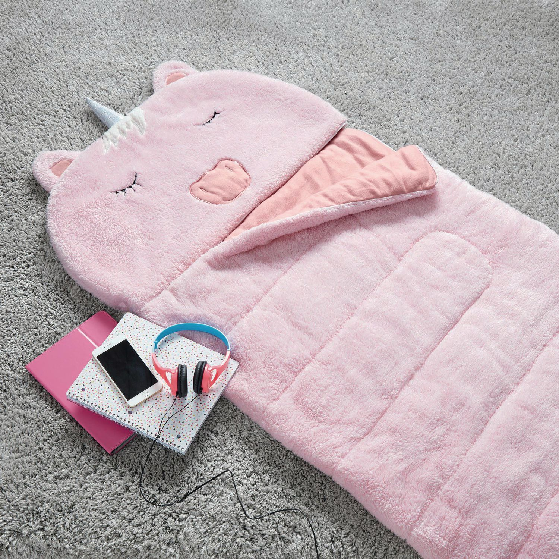 timeless design 890ee 8c974 Mainstays Kids Unicorn Sleeping Bag & Body Pillow