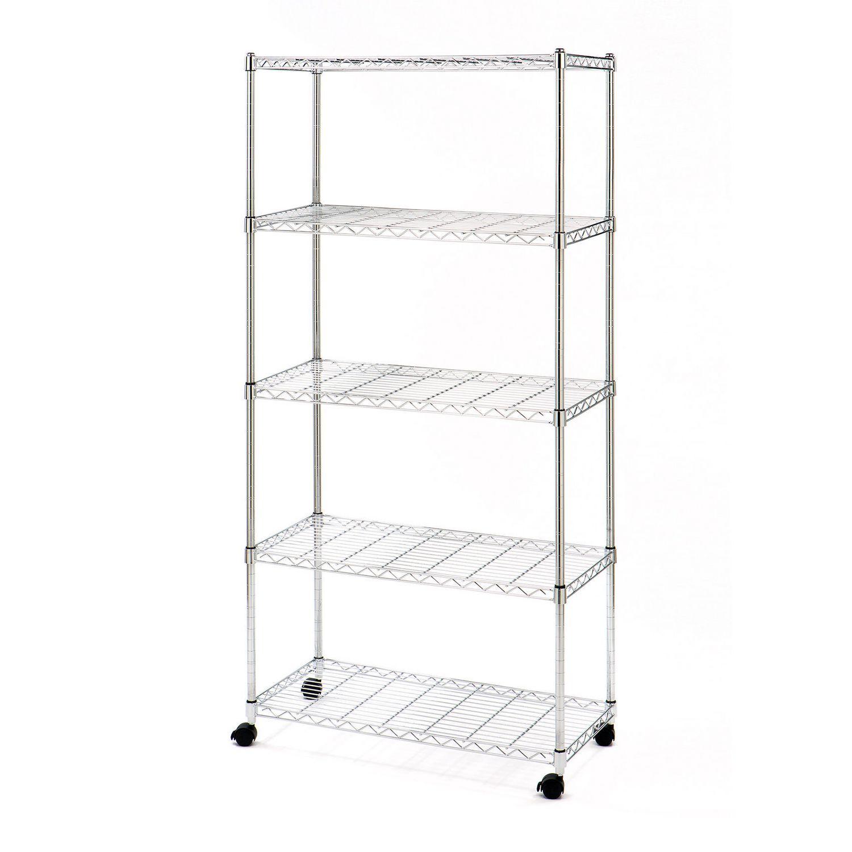 Metal Shelving Home Storage Organization At Walmart