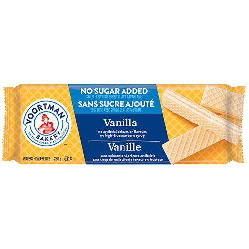 Voortman No Sugar Added Vanilla Wafer Cookies